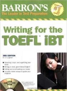 Barron's Writing for the TOEFL iBT - Wikitoefl.net