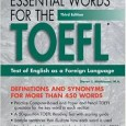 Barron's Essential Words for the TOEFL 3rd Edition - (WikiToefl.Net)