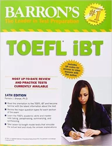 Barron Toefl Ibt 14th Edition Pdf Only