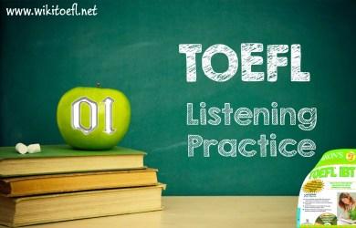 TOEFL Listening Practice Test 01 - Wikitoefl.Net