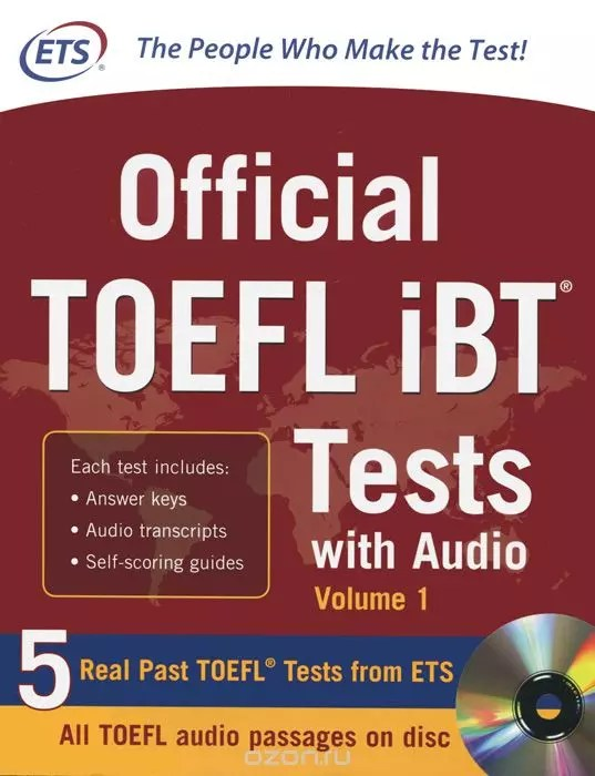 Official TOEFL iBT® Tests Volume 1