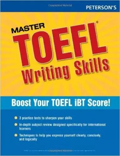 Petersons Master TOEFL Writing Skills