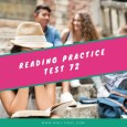 Reading Practice Test 72 from The Collection of TOEFL Reading Comprehension