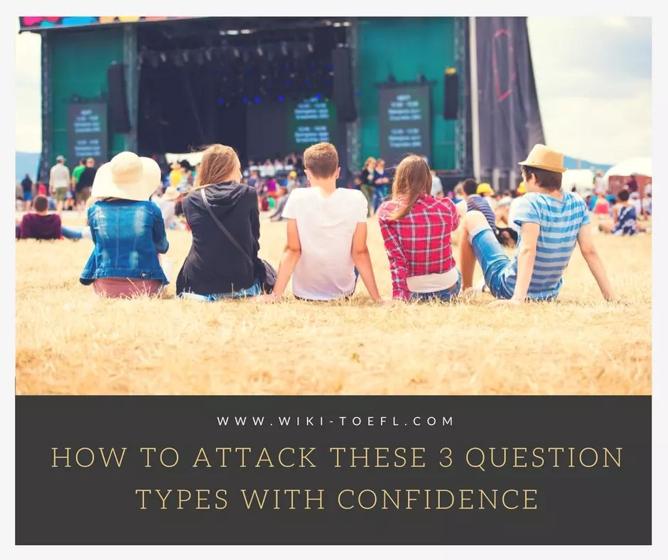 How to Attack These 3 Question Types with Confidence