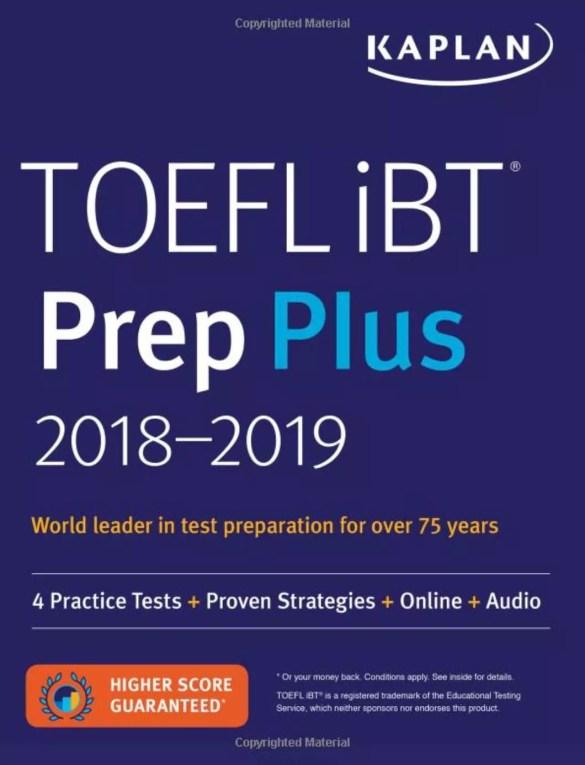 TOEFL iBT Prep Plus 2018-2019: 4 Practice Tests