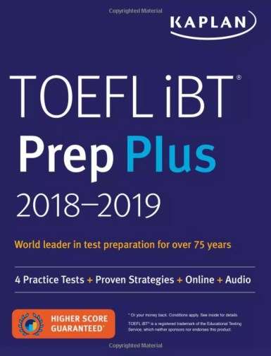 TOEFL iBT Prep Plus 2018-2019: 4 Practice Tests
