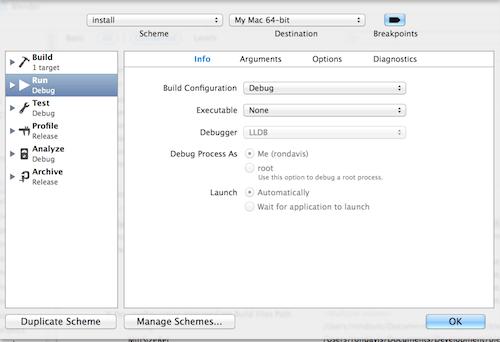xcode-run