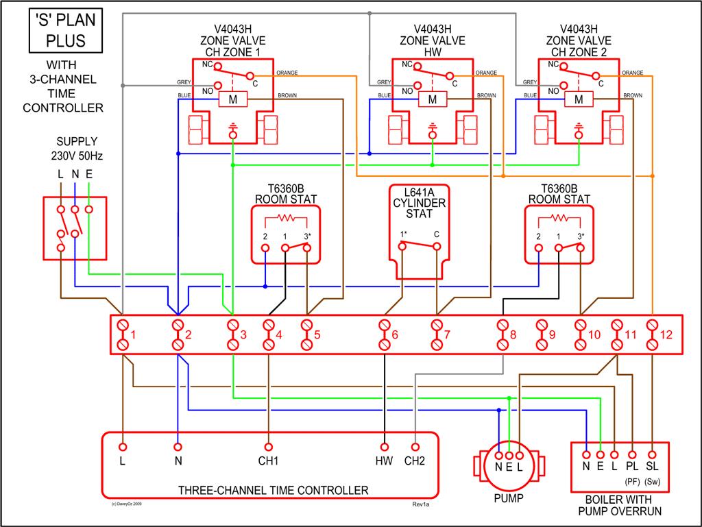 ... underfloor heating wiring diagram and hernes ufh  sc 1 st  Wiring Diagrams : underfloor heating wiring diagram combi boiler - yogabreezes.com