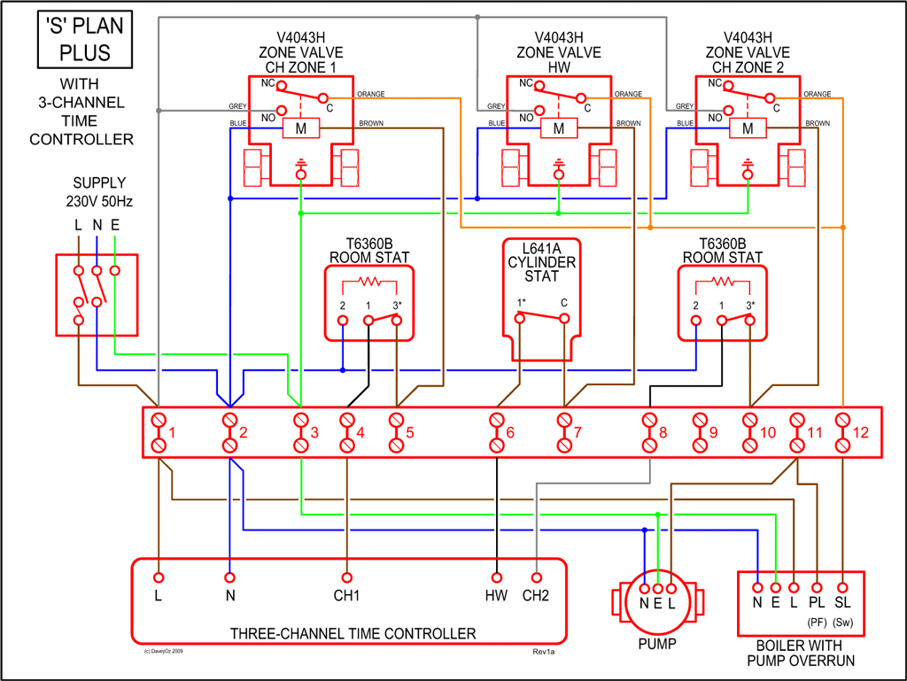 Changes To Heating Control Circuit Question