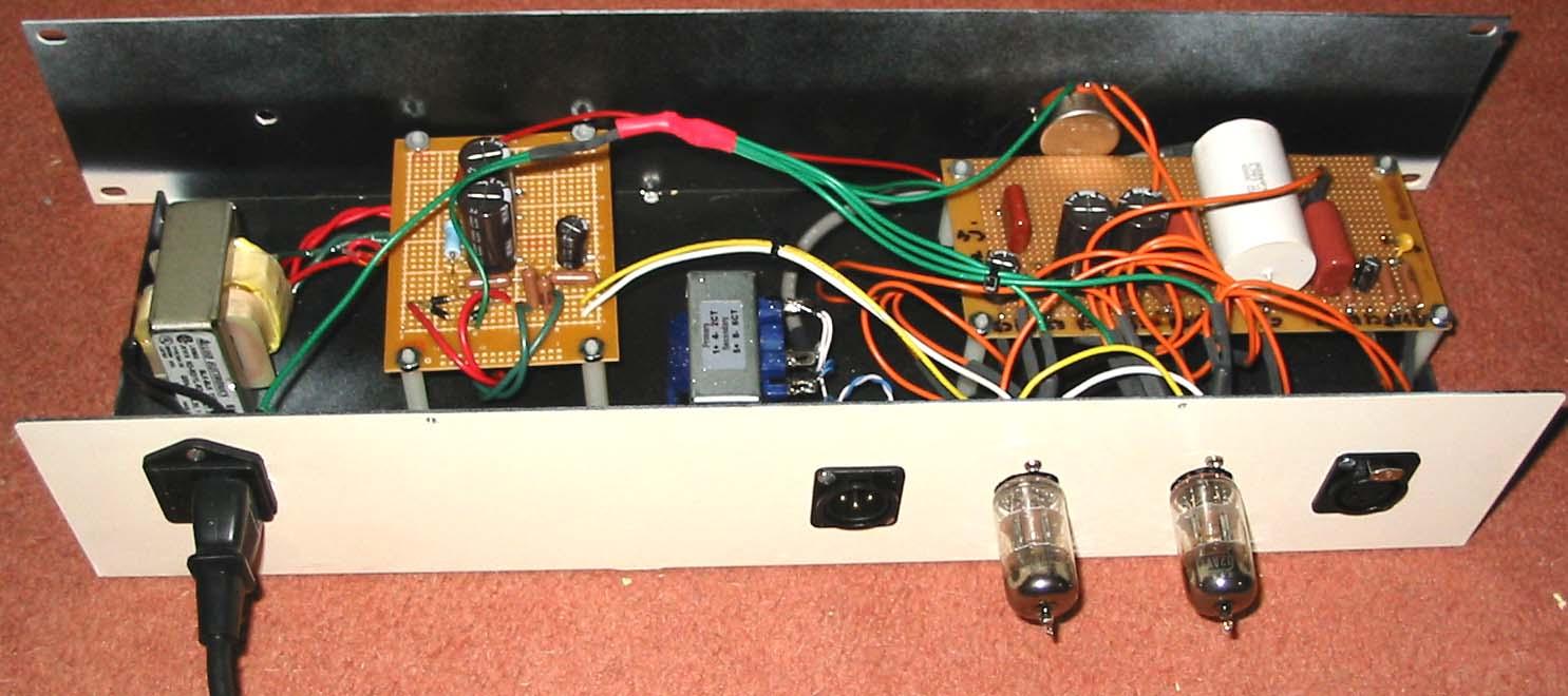 Nyd Mila 1 Tube Preamp Diyre Wiki Vacuum Microphone Diy