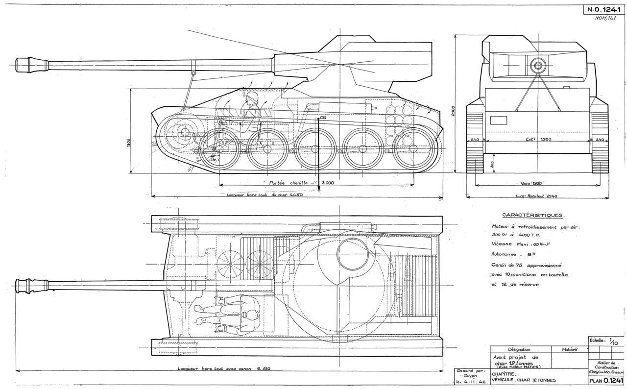 Amx 12t Un Char Inconnu De L Histoire