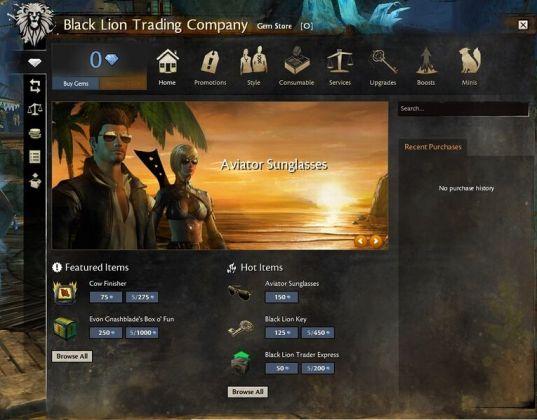 2012 Black Lion Trading Company