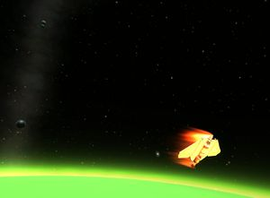 Atmospheric entry Kerbal Space Program Wiki
