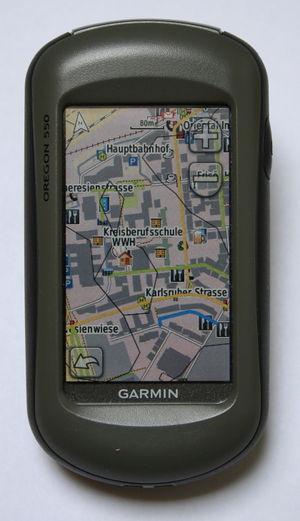 Mac und Garmin Oregon  OpenStreetMap Wiki