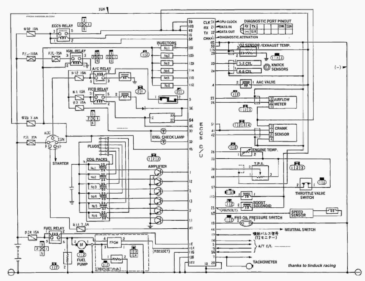 Compleat Wiring Diagram Nissan 240sx - Wiring