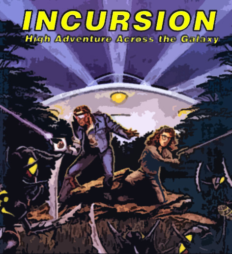 Cover for the game Incursion
