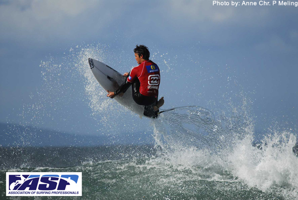 Jordy Smith, no. 1 på ASP ranking