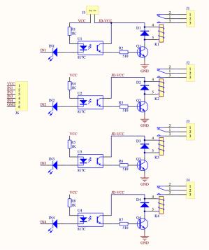 4 Channel 5V Relay Module  Wiki