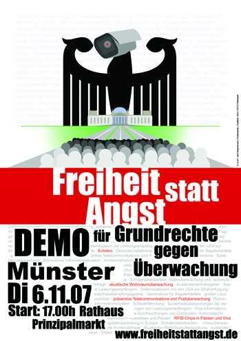 demo - freiheit statt angst