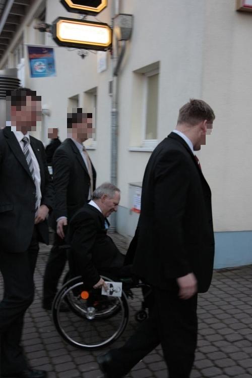 Schäuble mit Schäublone