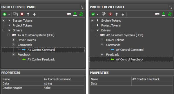 AV & Custom Systems (UDP) — iRidium Mobile Wiki