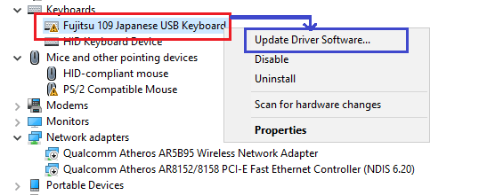 device manager windows disabled
