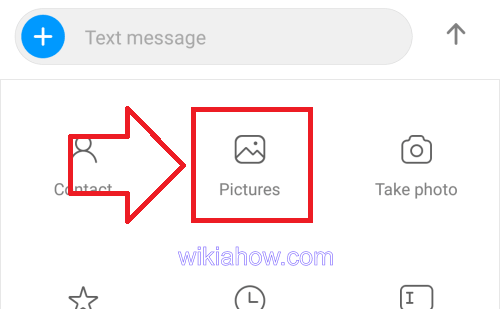android attach file in text message