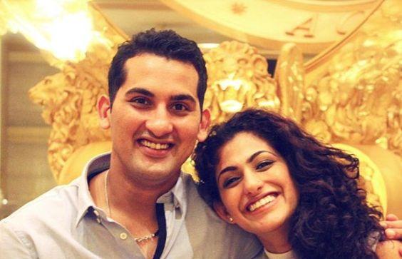 Kubbra Sait and her brother Danish Sait