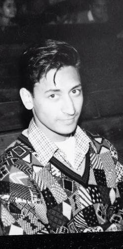 17 Years Old Deepak Rawat During His Hansraj College Days
