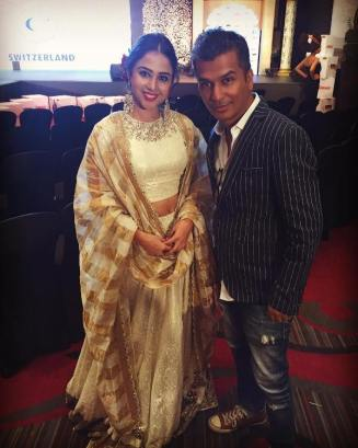 Ridhima Pathak with Vikram Phadnis