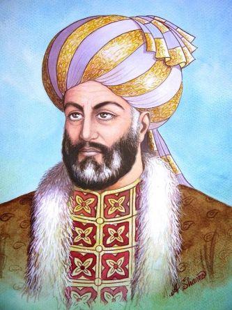 Painting of Ahmad Shah Abdali