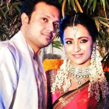 Trisha Krishnan with Varun Manian