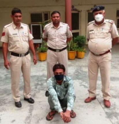 Shivani Khobiyaan's Murderer With the Local Police