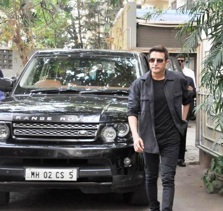 Jimmy Sheirgill with his car