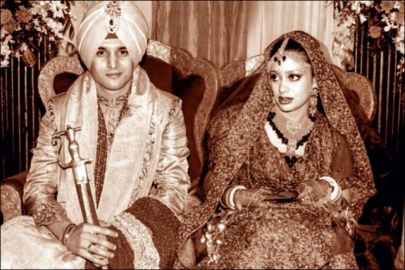 Jimmy Sheirgill's wedding picture