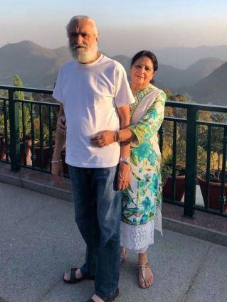 Maheep Kapoor's Parents