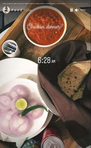 Meghna Kaur's Instagram status