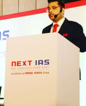 Deepanshu Singh as a speaker