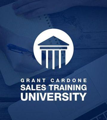 Logo of Grant Cardone Sales Training University