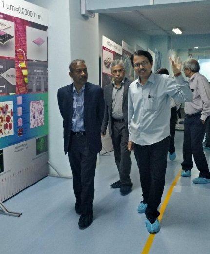 Amit Khare (extreme left)