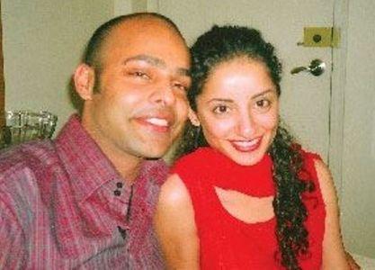 Sarwat Gilani with her ex-husband Omer Saleem