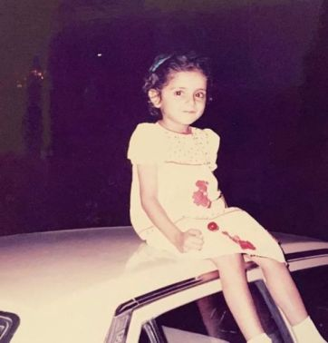 Sarwat Gilani's childhood picture