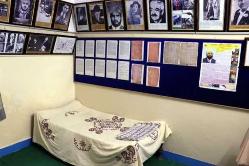 Udham Singh's room in his orphanage turned into a museum in Amritsar
