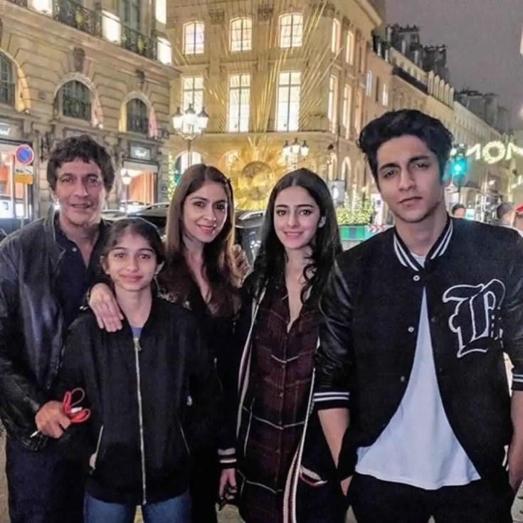 ananya pandey family