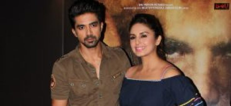 Saqib Saleem and sister huma qureshi