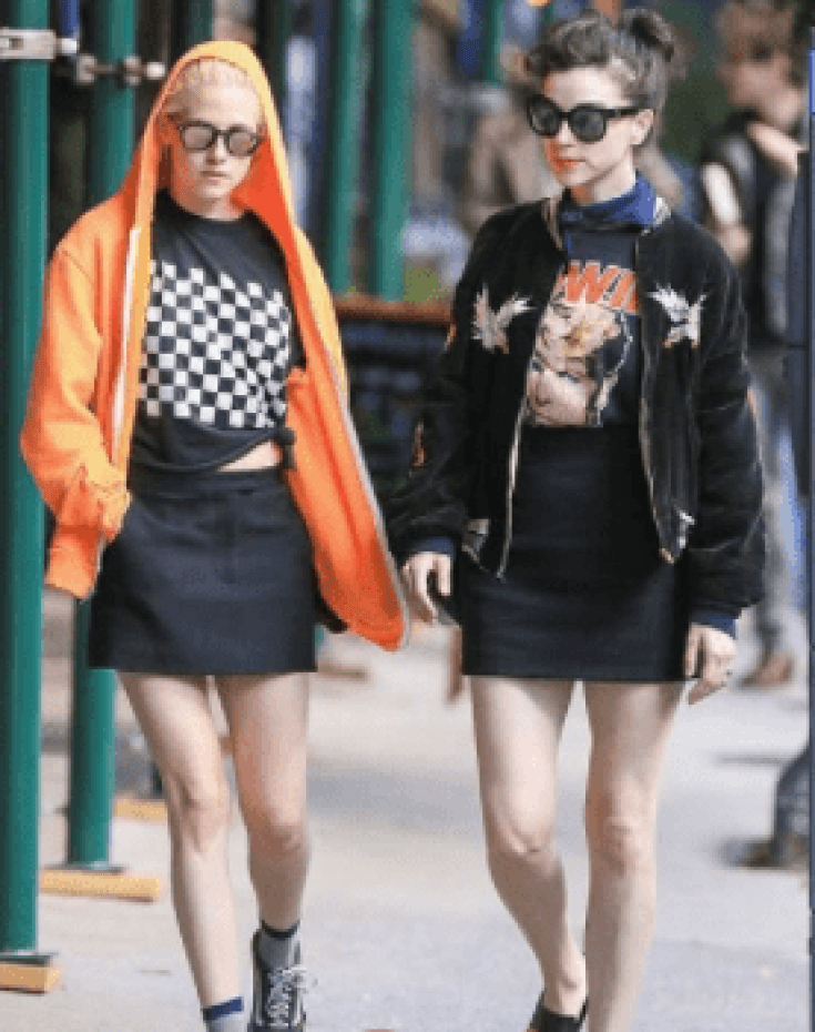 kristen stewart and St. Vincent