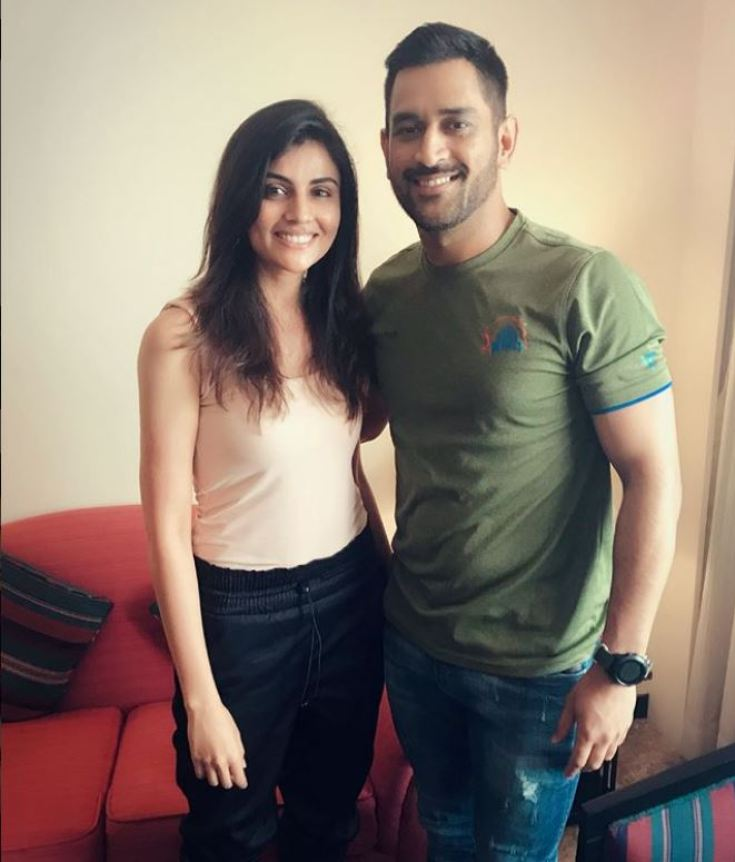 Malti Chahar and MS Dhoni