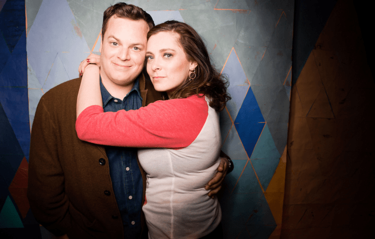 Rachel Bloom with Husband Dan Gregor