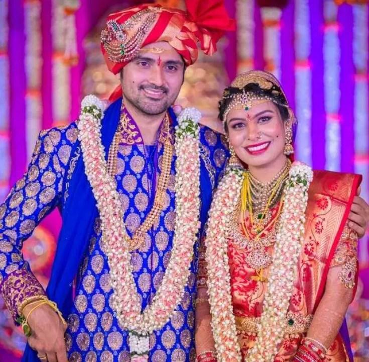 Samrat Reddy marriage pics