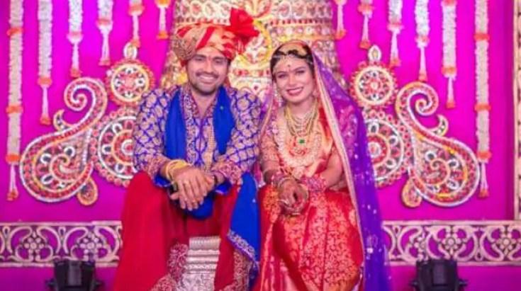 Samrat Reddy wedding pics